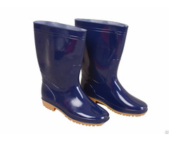 Wrb 1001 Blue Pvc Vinyl Men Best Rain Boots