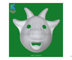Creative Custom Blank White Paper Masks