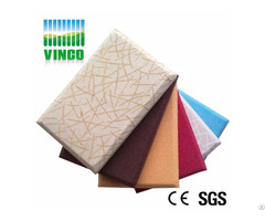 Multi Function Leather 3d Acoustic Panel Anechoic Chamber Decorative Ceiling And Wall Panels