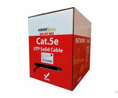 1000ft Cat5e Plenum Cmp Cable