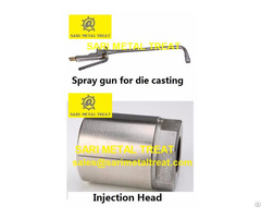 Spray Gun And Tips For Die Casting