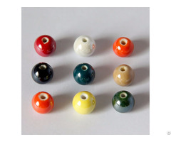 Colorful Ceramic Beads 10mm