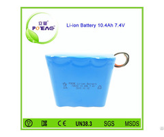 Wholesale Price 10 4ah 7 4v Portable Li Ion Battery Pack