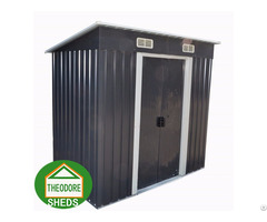 Garden Metal Shed Pent Roof 4 X8 Ft