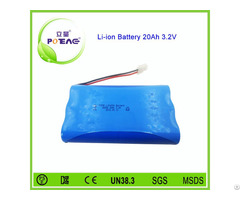 1s6p 3 2v 20ah Lifepo4 Electric Cycle Battery Pack
