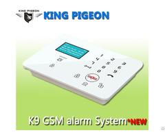 Gsm 3g Touch Keypad Alarm System