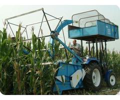 Corn Silage Combine Harvester