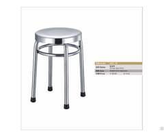 Canteen Student Dining Chair Stainless Steel Stool