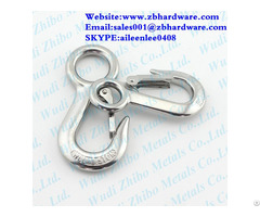 Stainless Steel Crane Lifting Safety Hook With Large Open