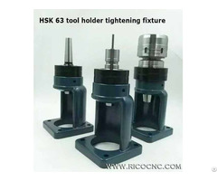 Non Keyway Toolholder Tightening Fixtures For Hsk63 Iso40 Bt40 Tool Change Out