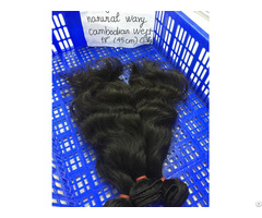 Cambodian Weft Natural Wavy Thick Most Suitable For African Women