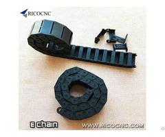 Cable E Chain Wire Drag Carrier With Mounting Bracket End For Cnc Machines