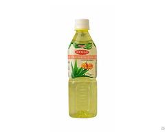 Okyalo 500ml Raw Aloe Vera Drink With Peach Flavor Okeyfood