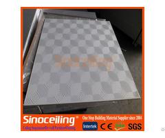 600x600mm Pvc Gypsum Board With Foil Back