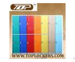 Double Tier Abs Plastic Cabinets Red Color