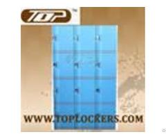 Plastic Mini Lockers Blue Color