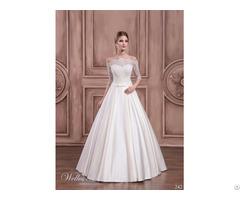 Spring New Fashion Best Design Princess A Line Wedding Bridal Dress