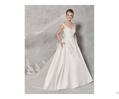 Spring New Arrival Beautiful Wedding Dress For Bridal