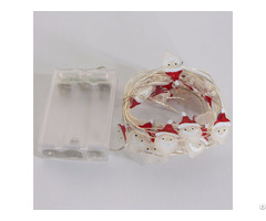 Christmas Decorative 25 Smd Santa Face String Light Kf67063