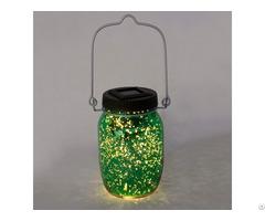 Solar Powered Firefly Mason Jar Kf130063