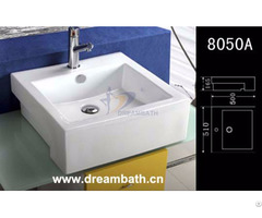 Rectangular Bathroom Basin