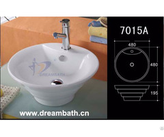 Porcelain Bathroom Basin