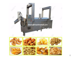 Continuous Potato Chips Frying Machine