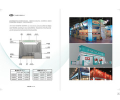 Exhibition Booth Event Aluminium Material Exbihition Equipment