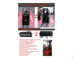 Forklift Red Zone Safety Light