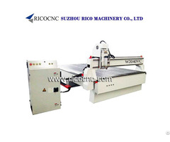 Furniture Making Machine Door Carving Cnc Router Kitchen Cabinets Cutting Tool W2040vc