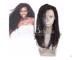 Virgin Curly Hair Lace Wigs