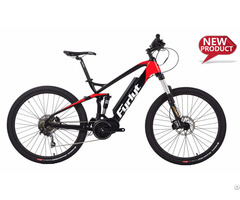 Full Suspension Electric Bike 27 5 Bafang Mid Drive