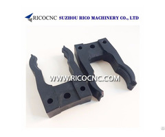 Hsk A E F 63 And Sk 40 Tool Changer Elastic Gripper Fork Clips For Cnc Router Machine