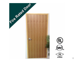 Hot Sale Wooden Design 90 Mins Fire Rated Door
