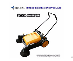 Commercial Manual Floor Sweepers Push Mechanical Clearner For Wood Workshop