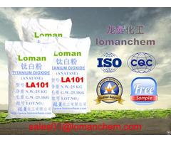 Best Sales Inorganic Chemicals Paint And Coating Used Titanium Dioxide La101