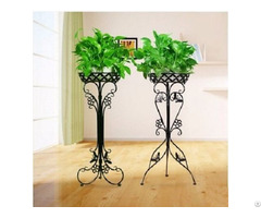 Modern Wrought Iron Garden Rack