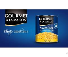 Sweet Corn Gourmet Ala Maison