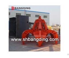Bangding Hydraulic Orange Peel Grab Bucket For Ship Use