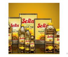 Refined Sunflower Oil Selin