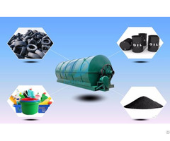 Waste Tyres Pyrolysis Plant For Sale
