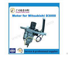 Mitsubishi D3000 Offset Printing Machine Ink Key Motor