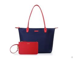 Womens Stylish Large Nylon Handbag Anti Wrinkle Beach Travel Shoulder Tote Bag