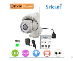 Sricam Sp008 960p Ptz Onvif Sd Card Outdoor Ip Camera