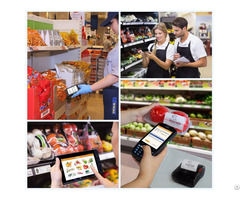 Handheld Industrial Pda Terminal For Retail Stores
