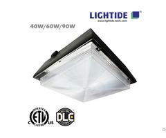 Dlc Premium Fuel Pump Canopy Led Luminaires Lt Sgsal 90w