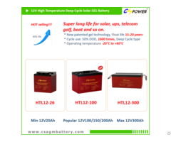 Supplier Vrla Deep Cycle Agm Battery 12v150ah For Ups