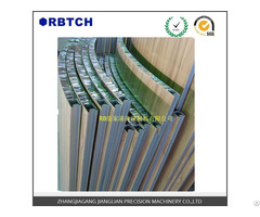 Curved Honeycomb Composite Panel
