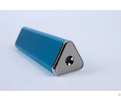 Aluminum 2200mah Power Bank Triangle Touch Control Portable Charger