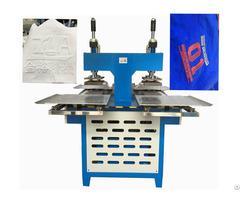 Jinyu Cloth Silicone Trademark Embossing Machine Onto Fabrics